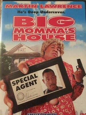 Big Momma's House (DVD, 2001, Special Edition - Sensormatic)