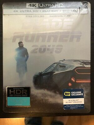 Blade Runner 2049 SteelBook 4K Ultra + Blu-ray Best Buy Exclusive