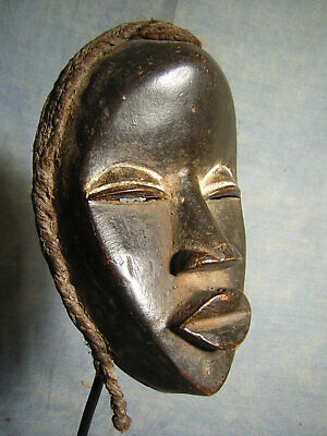 Art Africain Ancien Masque Dan Rci Statue Africaine Afrique African Tribal Mask