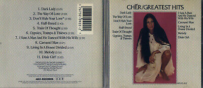Cher - Greatest Hits (CD, Oct-1990, MCA Records) Free Ship #0519IU
