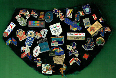 #D495.   Forty One (41)  Sydney 2000  Olympic &  Paralympic Pins
