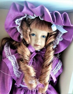 "Heidi Ott Little Ones 12"" CASSANDRA Late M Series Girl, MIB"