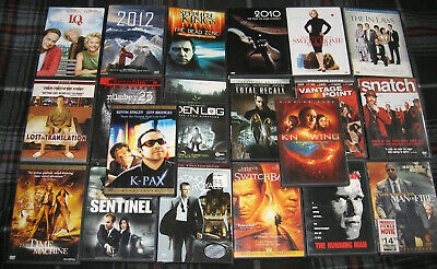 20 DVD Lot -- DVDs only -- Assorted -- Comedy/Horror/Action/Suspense (55e)
