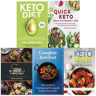 Keto Diet:Your 30-Day,Quick Keto Meals,Beginner's 5 Books Collection Set Pack