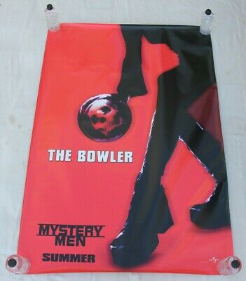 Mystery Men The Bowler BUS SHELTER MOVIE POSTER 4'x6'