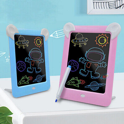 US Draw With Lights Fun And Developing Toy Drawing Board Magic Draw Educational