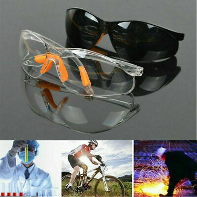 Outdoor Work Anti-impact Factory Lab Clear Goggles Safety Eye Protective Glasses