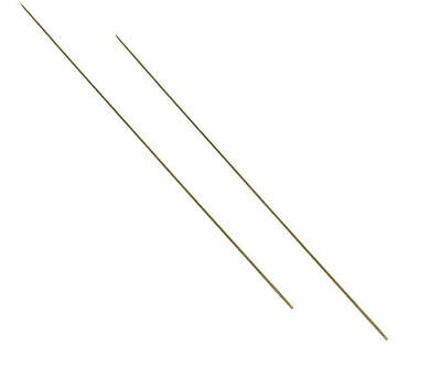 TWIN PACK  KOIKE STAINLESS STEEL Ragworm etc. DRILLED BAITING NEEDLES for Lug