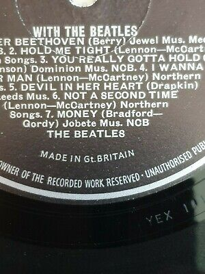 """The Beatles - With The Beatles - UK Stereo Pressing - """"Jobete"""" Label - Stunning!"""