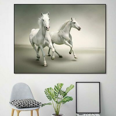 HD printed canvas art animals decorative horses wall art picture home decoration