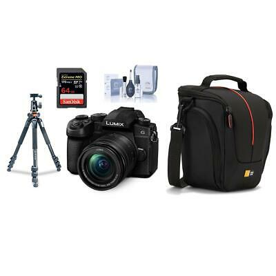 Panasonic Lumix DC-G95 Mirrorless with 12-60mm OIS Lens With Tripod /32GB Card