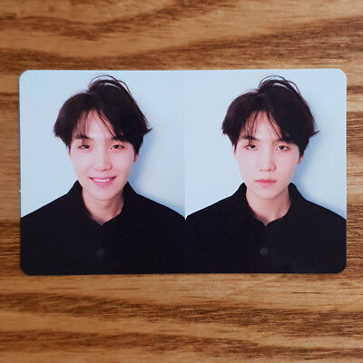 Suga Official Photocard BTS Love Yourself Tear R Version Fake Love Kpop