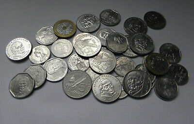 Lot vrac de 33 pieces francs commémorative  1fr , 2fr , 5 fr +  2 X 20 FRANCS 93