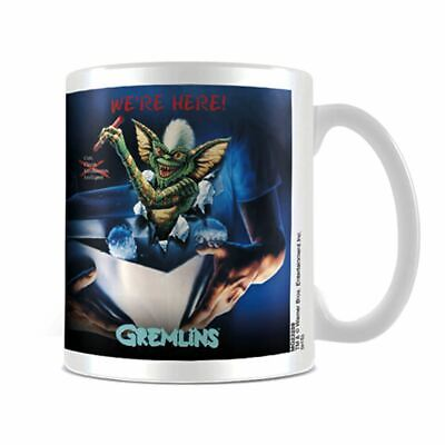Gremlins We're Here Ceramic Coffee Mug Tea Cup - Boxed