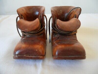 Goody Two Shoes Folk Art Wood hand carved