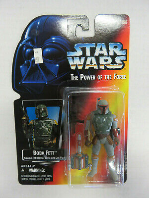 "STAR WARS Power of the Force - BOBA FETT 3.5"" Figure - FULL CIRCLE! Kenner 1995"