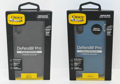 New Open OEM OtterBox Defender Pro Series Case For iPhone X & iPhone Xs
