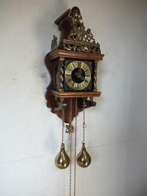 Dutch Zaanse Clock Warmink 19 inches