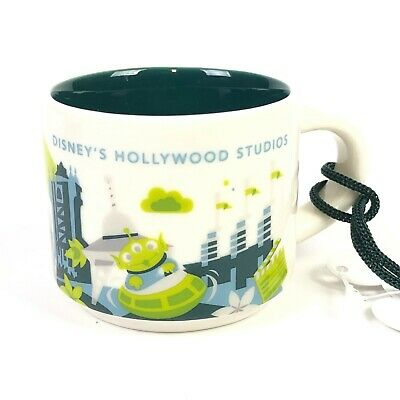 Disney Parks Starbucks Hollywood Studios You Are Here Ornament 2nd Edition