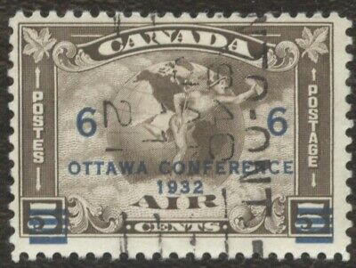 Stamps Canada # C4, 6¢, 1937, lot of 1 used stamp.