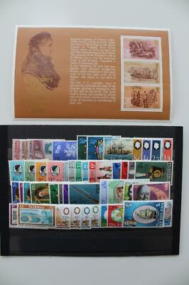 ST.HELENA Fine MNH Collection of 23 Early QEII Stamp Sets and Miniature Sheets