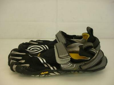 uk availability 9e381 5c803 Mens sz 44 Vibram FiveFingers Komodo Sport Barefoot Shoes Black Silver Grey  Gold
