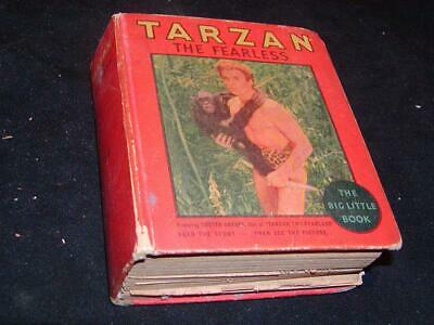 """Antique BIG LITTLE BOOK """"Tarzan the Fearless"""" Featuring Buster Crabbe"""