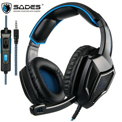Stereo Gaming Headset for PS4 PC Xbox One Controller, SADES SA920PLUS Noise