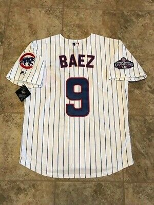 reputable site b5805 59819 MEN'S CHICAGO CUBS #9 Javier Baez Cool Base Player Jersey ...