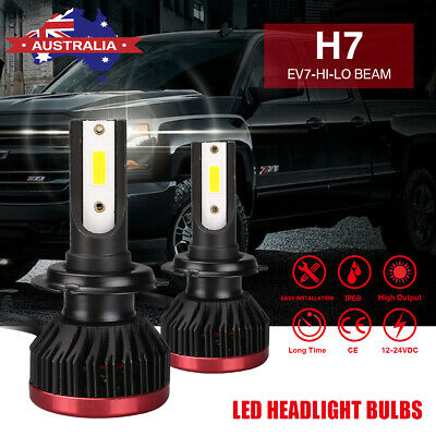 H7 1150W 172500Lm LED Car Headlight Conversion Globes Bulbs Beam 6500K Kit AU