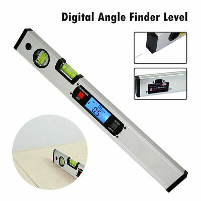 Digital Protractor Mini Electronic Spirit Level Test Ruler Magnetic Angle Finder