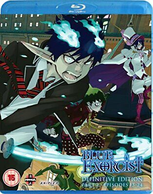 Blue Exorcist: Definitive Edition Part 2 Episodes 13-25 & OVA Blu... - DVD  40VG