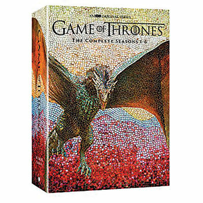 Game of Thrones: The Complete Seasons 1-6 (DVD, 2016) NEW