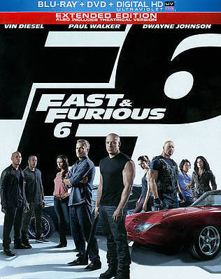 Fast  Furious 6 (Blu-ray ONLY) STEELBOOK VERSION - DISC IS MINT