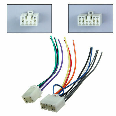 radio stereo cd player reverse wire wiring harness plug connector car radios stereo wire cd player reverse harness plug connector for toyota parts