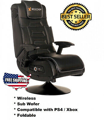 Awe Inspiring Wireless Gaming Chair Ps4 Or Xbox With Pedestal And Sub Squirreltailoven Fun Painted Chair Ideas Images Squirreltailovenorg
