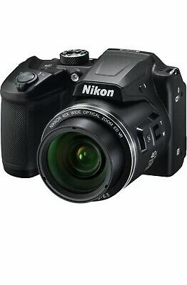 Nikon COOLPIX B500 16MP Digital Camera (Black) + Wi-Fi Bluebooth