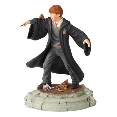 Harry Potter Figurine Ron Weasley Year One Wizard Enesco Resin