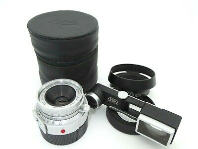[EX+5] Leica Leitz Wetzlar Summaron 35mm f3.5 M Mount with Goggle Hood from JP