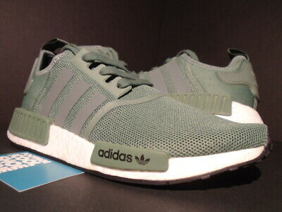 2017 ADIDAS NMD R1 Trace Green Core White Black Sns