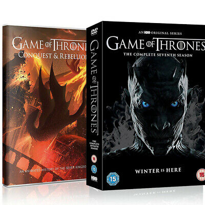 Game of Thrones: The Complete Seventh Season 7 (DVD, 5-Disc Box Set) Region 2 UK