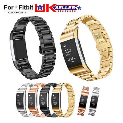 For Fitbit Charge 2 Stainless Steel Bracelet Strap Replacement Watch Band Wrist