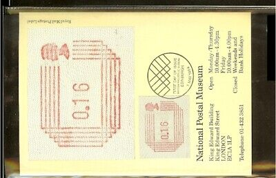 [A73_73] 1984 - Great Britain ATM FDC A1 (5) - 16p