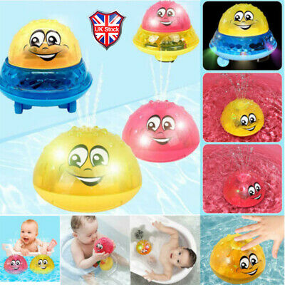 Funny Infant Electric Induction Water Spray Toy Children Baby Bath Shower Kids M