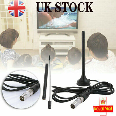 2019 Best Portable TV Antenna Indoor Outdoor Digital HD Freeview Aerial Ariel K