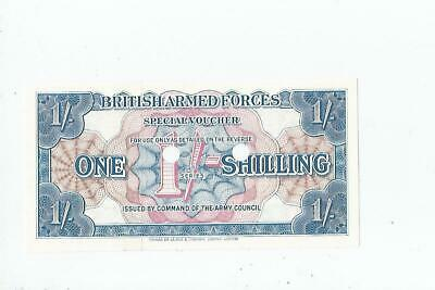 BAF  1  SHILLING  3rd  SERIES  PUNCH  CANCELLED