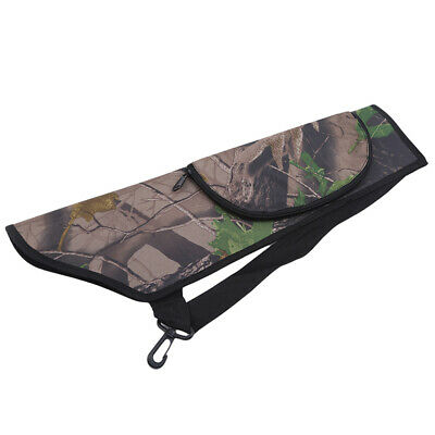 Target Hunting Archery Quiver Back Hip Waist Bag Arrow Bow Storage Pouch Z