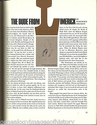 The Dude from Limerick A Remarkable History of Our West