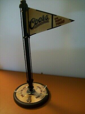Lot of FIVE 2002 Coors Beer Table Enhancers with Spinner