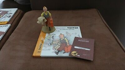 La collection figurines TINTIN HERGE état impeccable NEUF sous blister (double)